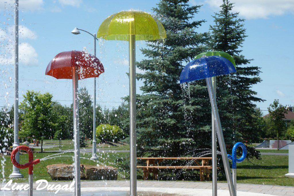 Jeux d'eau parc Paul-Stevens